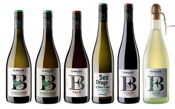 WeinPaket Weingut BAUER Kollektion 6x0.75l