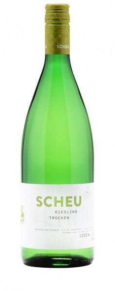 Weinhof Scheu - Riesling trocken Liter 2019