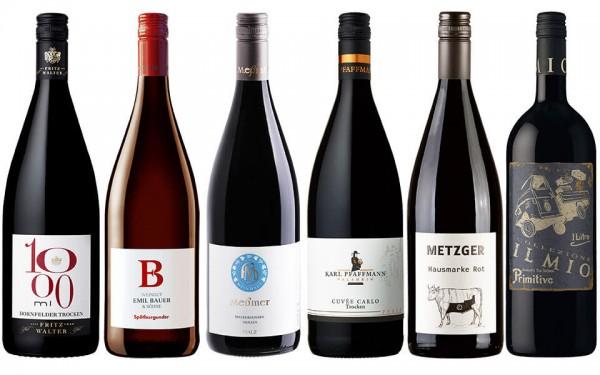 WeinPaket Liter Lieblinge ROT 6x1l