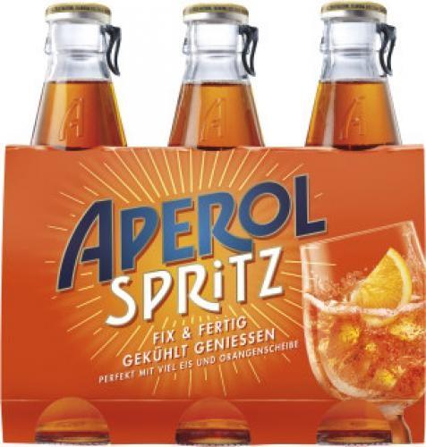 Aperol Spritz Alk.10,5vol.% 3x175ml