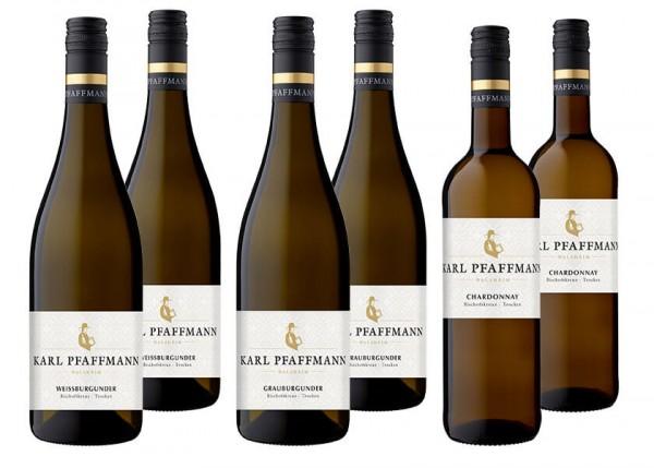 WeinPaket BURGUNDER by Karl Pfaffmann 3x2