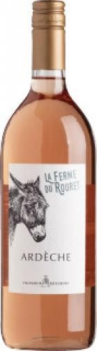 Les Vignerons Ardéchoise - La Ferme du Rouret Rosé trocken Liter
