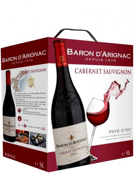 Baron D'Arignac - Cabernet Sauvignon 5 Liter Bag-in-Box