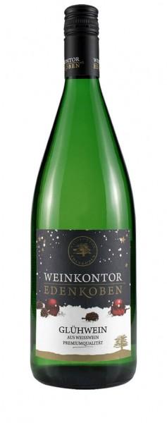 Weinkontor Edenkoben - Dornfelder Glühwein weiß Liter
