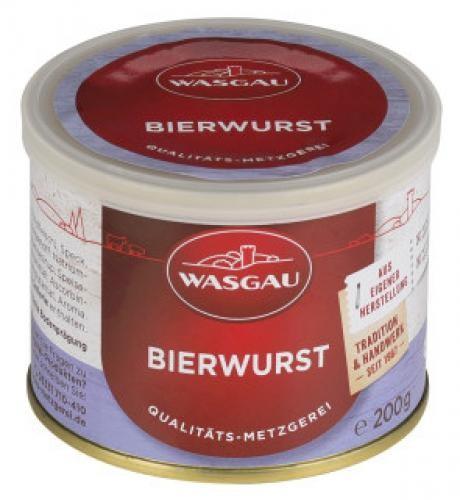 WASGAU - Bierwurst (200g-Dose)