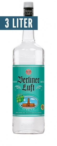 Berliner Luft Pfefferminzlikör Doppelmagnum Alk.18vol.% 3l