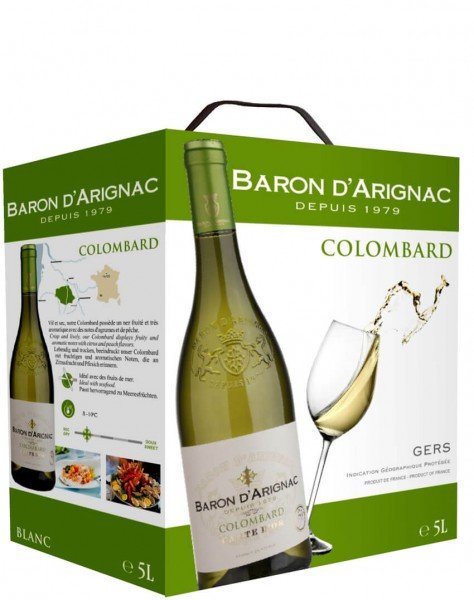 Baron D'Arignac - Colombard Blanc 5 Liter Bag-in-Box