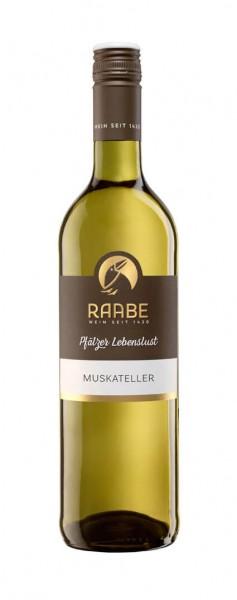 Weingut Raabe - Muskateller Pfälzer Lebenslust feinherb 2020