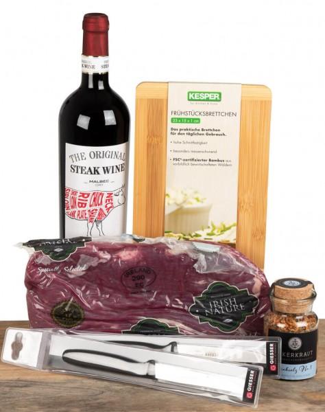GenussPaket Wein meets Steak