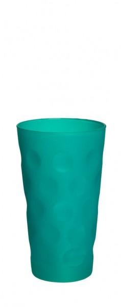 Böckling - Dubbeglas 0,5l Matt Türkis
