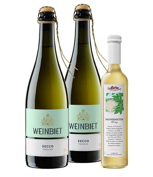 WeinPaket Prickelnde Frühlingsboten