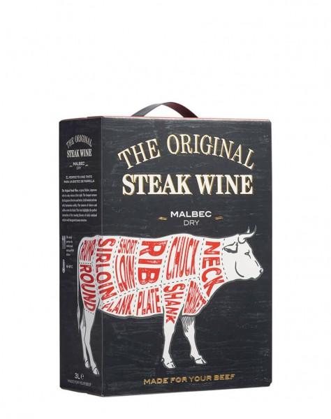 Original Steak Wine Malbec 3 Liter Bag-in-Box