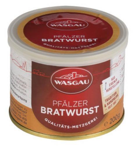 WASGAU - Pfälzer Bratwurst (200g-Dose)