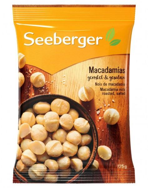 Seeberger Macadamia gesalzen - 125 g