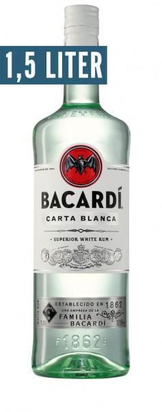 Bacardi Carta Blanca Alk.37,5vol.% 1,5l