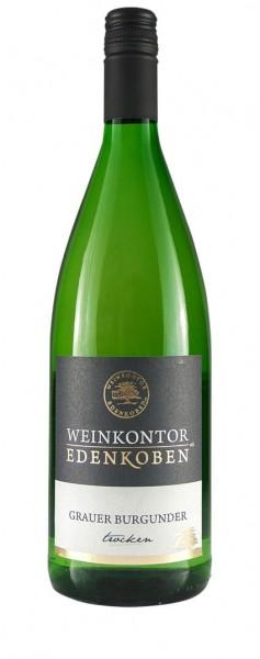 Weinkontor Edenkoben - Grauer Burgunder trocken Liter 2019