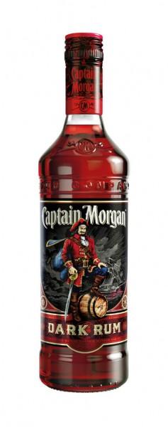 Captain Morgan Dark Jamaica Rum Alk.40vol.% 0,7l