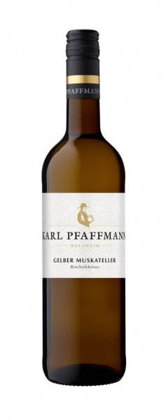 Weingut Karl Pfaffmann - Gelber Muskateller Nußdorfer Bischofskreuz 2019