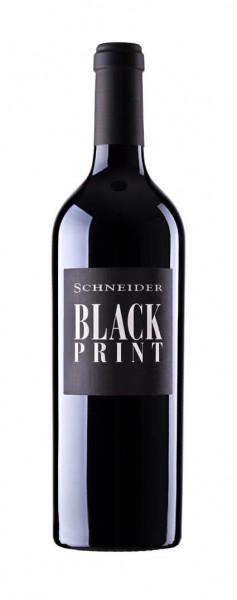 Weingut Markus Schneider - Black Print Rotwein Cuvée trocken 2018