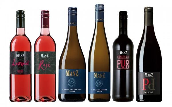 WeinPaket Weingut Manz 6x0.75l