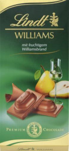 Lindt - Williams Schokolade 100g