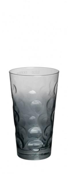 Böckling - Dubbeglas 0,5l Verlauf Grau
