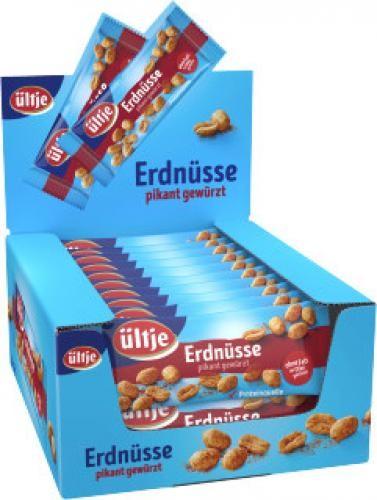Ültje Erdnüsse pikant gewürzt - 20x50 g