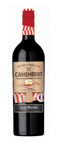 Camembert Rotwein halbtrocken 2017