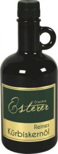 Ölmühle Esterer - Kürbiskernöl 0,5l