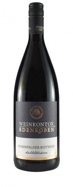Weinkontor Edenkoben - Dornfelder halbtrocken Liter 2019