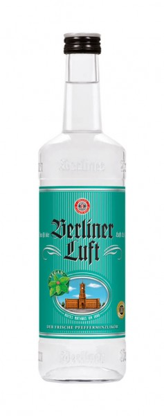 Berliner Luft Pfefferminzlikör Alk.18vol.% 0,7 l