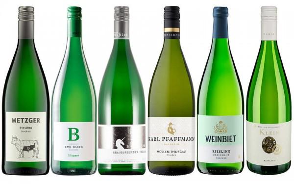 WeinPaket Liter Lieblinge WEISS 6x1l