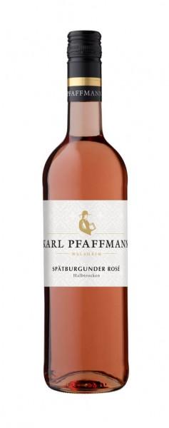 Weingut Karl Pfaffmann - Spätburgunder Rosé halbtrocken 2020