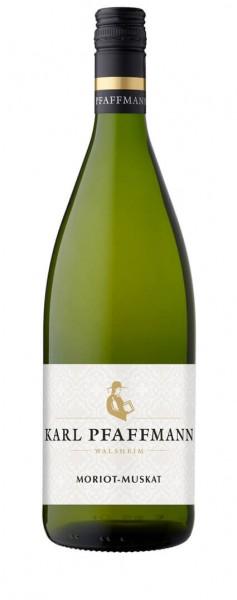 Weingut Karl Pfaffmann - Morio Muskat lieblich QbA Liter 2019