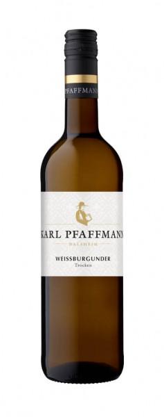 Weingut Karl Pfaffmann - Weißburgunder QbA trocken 2019