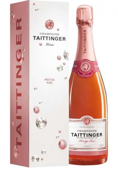Champagne Taittinger - Brut Prestige Rosé in Diamond