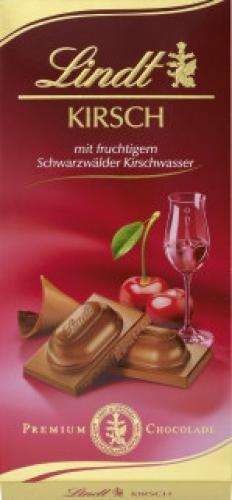 Lindt - Kirsch Schokolade 100g